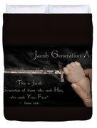 Jacob Generation Duvet Cover