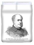 Jacob Pleydell-bouverie (1815-1889) Duvet Cover