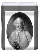 Jacques De Vaucanson (1709-1782) Duvet Cover