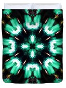 Jade Reflections - 4 Duvet Cover