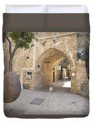 Jafo In Tel Aviv Israel Duvet Cover