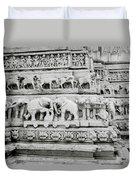 Jagdish Temple Sculpture Duvet Cover