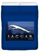 A Gift For Dads And Jaguar Fans Duvet Cover