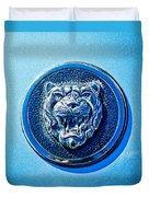 Jaguar Emblem -0056c Duvet Cover