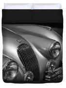 Jaguar Xk 120 Duvet Cover