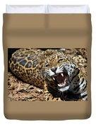 Jaguar Intensity Duvet Cover