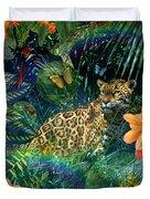 Jaguar Meadow Duvet Cover