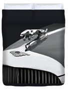 Jaguar Mk Ix Hood Duvet Cover