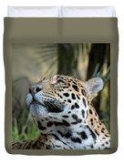 Jaguar Portrait Duvet Cover
