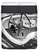 Jaguar Steering Wheel 2 Duvet Cover