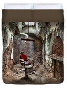 Jail Cell Barber Duvet Cover