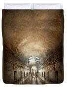 Jail - Eastern State Penitentiary - End Of A Journey Duvet Cover
