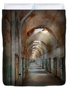 Jail - Eastern State Penitentiary - Endless Torment Duvet Cover
