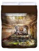 Jail - Eastern State Penitentiary - The Mess Hall  Duvet Cover
