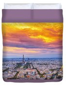J'aime Paris Duvet Cover