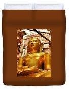 Jain Temple Amarkantak India Duvet Cover
