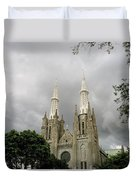 Jakarta Cathedral Indonesia Duvet Cover