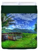 Jamaican Sky Duvet Cover
