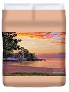 Jamaican Sunset Duvet Cover