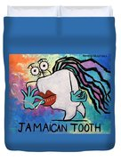 Jamaican Tooth Duvet Cover