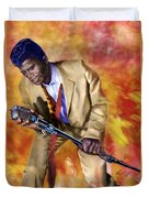 James Brown And His Famous Flames Duvet Cover