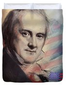 James Buchanan Duvet Cover