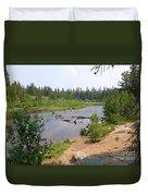 James Creek Pond Duvet Cover