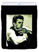 James Dean Poster Art Duvet Cover