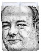 James Gandolfini In 2007 Duvet Cover