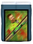 James Hinchcliffe Duvet Cover by Blake Richards