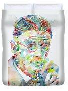 James Joyce Portrait.1 Duvet Cover