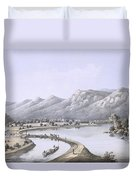 James River Canal Near The Mouth Duvet Cover