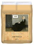 James Whistler 1 Duvet Cover