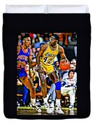 James Worthy Duvet Cover