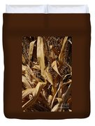 Jammer Corn Abstract 001 Duvet Cover