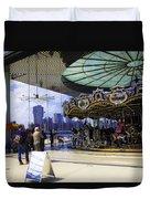Jane's Carousel 2 In Dumbo - Brooklyn Duvet Cover