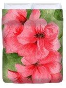 Jane's Flowers Duvet Cover