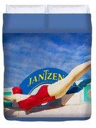 Jantzen Diver Duvet Cover