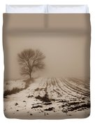 January Fog Duvet Cover