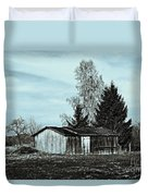 January Sadness Duvet Cover by Jutta Maria Pusl