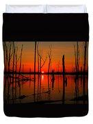 January Sunrise Duvet Cover