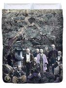 Japan Group Portrait, C1866 Duvet Cover