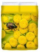 Japanese Beetle She Ruv You Ya Ya Ya Duvet Cover