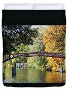 Japanese Bridge  Duvet Cover