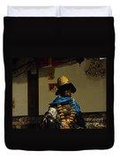 Japanese Buddhist Shrine With Bodhisattva 03 Duvet Cover