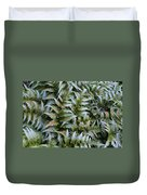 Japanese Ferns Duvet Cover