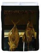 Japanese Fish And Seafood Dried Decoration Duvet Cover