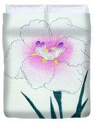Japanese Flower Duvet Cover