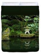 Japanese Garden Calmness Duvet Cover
