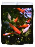 Japanese Koi Fish Duvet Cover